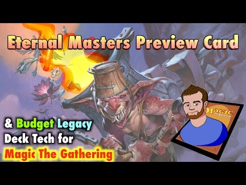 MTG - How To Build Goblin Charbelcher, a Budget Legacy Deck Tech for Magic: The Gathering!