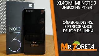 Xiaomi Mi Note 3 - Snapdragon 660 e Câmeras do Xiaomi Mi6! (Câmeras TOPs) -  Unboxing PT-BR