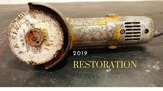 Angle Grinder Restoration | Very Old Hitachi Angle grinder Restoration