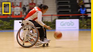 Cambodia's First Women's Wheelchair Basketball Team | National Geographic