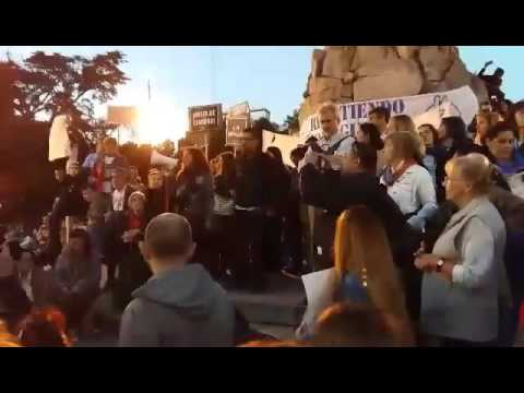 AHORA:  Multitudinaria Marcha 7a en Mar del Plata