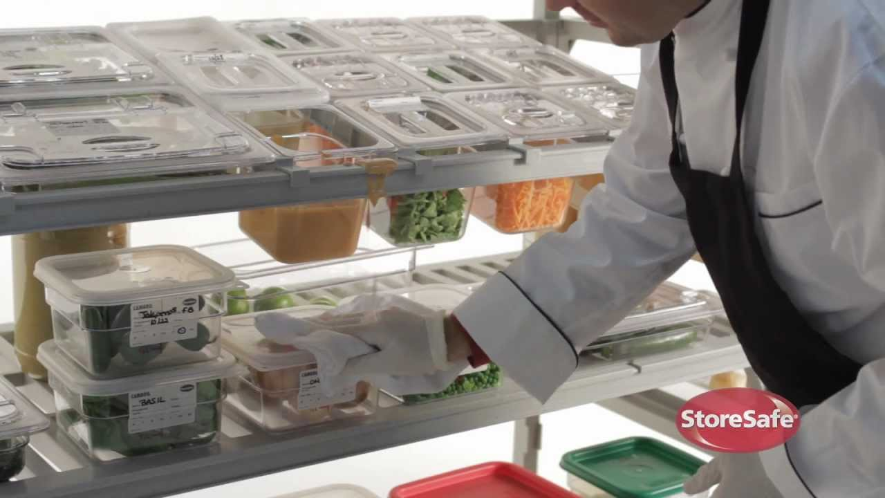 5 steps to food safety cross contamination cambro storesafe youtube