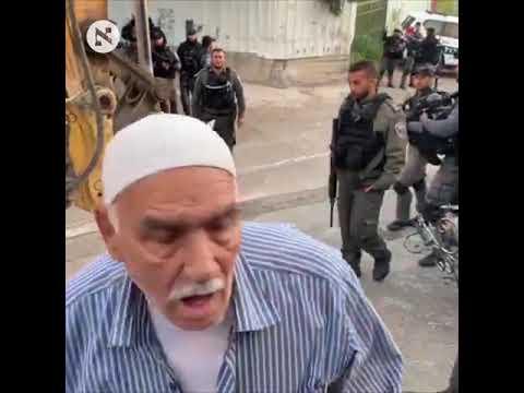 Israel comenzó la demolición de viviendas palestinas en un barrio de Jerusalén