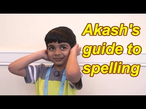 How To SPELL The Words Like A CHAMP I TIPS & STRATEGY I Akash's Guide To Spelling