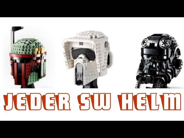 Alle Lego Star Wars Helme [2020]