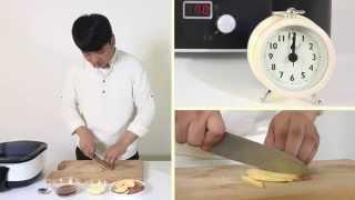 [식품건조기 레시피]  1시간 DIY 고구마칩