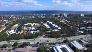 East Boca Raton -  4K Aerial Video - DJI Inspire 1 - Maiden Flight