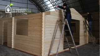 Quick-garden.co.uk Log Cabin General Assembly Instructions Diy