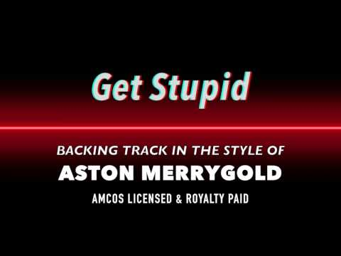Get Stupid Aston Merrygold Backing Track MIDI File