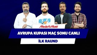 Frankfurt - Fenerbahçe  Galatasaray - Lazio  Serdar  Ersin D.  Mustafa D.  Uğur K.  İlk Raund
