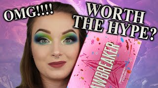 omg...JAWBREAKER PALETTE REVIEW AND FIRST IMPRESSIONS | Jeffree Star Cosmetics