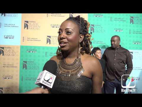 Ledisi on the red carpet for ESSENCE MAGAZINE Grammy Event
