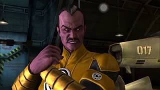 Injustice Mobile Antimatter Sinestro Super Moves and Powers No Commentary