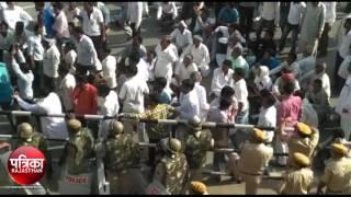 bikaner: आक्रोशित किसानों ने निकाली रैली और की महापंचायत बुलाने की घोषणा