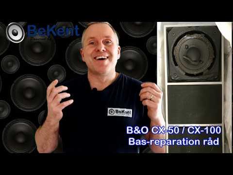B&O CX50 Og CX100 Basreparation Råd
