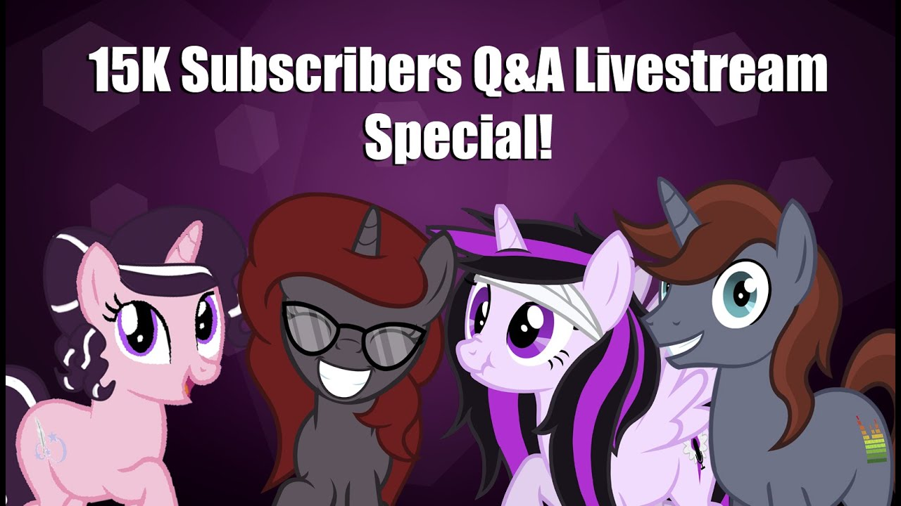 15k Subscribers Q&A Livestream Special - YouTube