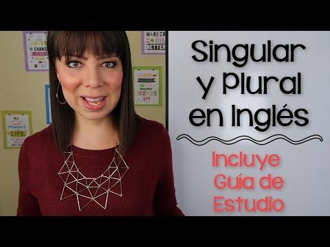 CÓMO USAR EL SINGULAR Y PLURAL EN INGLÉS - PARTE 1 | CURSOS DE INGLÉS EN GUATEMALA