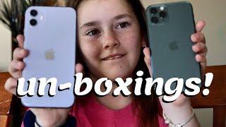 iPhone 11 un-boxings