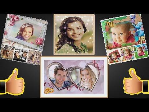 Вставить фото в видео ролик онлайн
