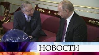 Развитие автоспорта в РФ обсудили В.Путин и глава Международной автомобильной федерации Ж.Тодт.