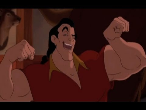 Gaston - Beauty and the Beast 3D 2012 (HD)