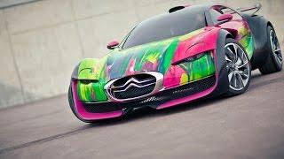 Citroen Survolt Art Concept Car Videos