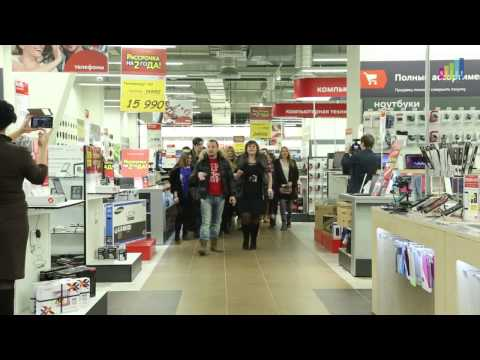 """Флешмоб в магазине под песню """"Смуглянка"""" Ярослава Сумишевского"""