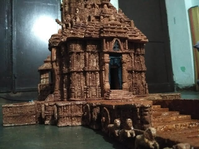 Thermocol art, Temple  | TravelerBase | Traveling Tips