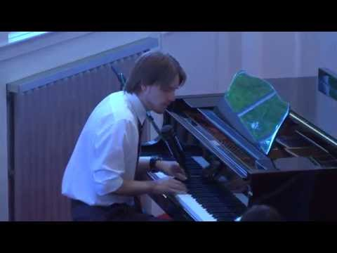 Outstanding Jazz piano playing at First Unitarian Church (Salt Lake City, UT)