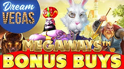 ⚠️⚠️⚠️ Buying 12 MEGAWAYS BONUSES In a Row !???? ⚠️⚠️⚠️ - Online Slots Action !