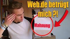 WEB.de BETRÜGT MICH ?! Reallife Story!