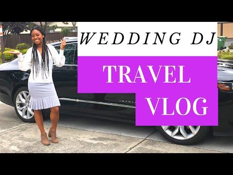 MY WEDDING DJ TRAVEL VLOG - Traveling To San Francisco, CA