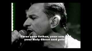 Depeche Mode ► Alone ▲▲ Delta machine - (with lyrics)
