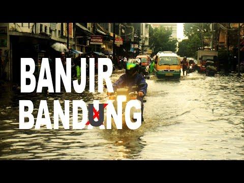 Bandung - Indonesia KEBANJIRAN  #explorebandung NOVEMBER | Vlog - Motovlog