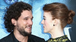 Kit Harington Scares the Daylights Out of Rose Leslie in One of Best April Fools Day Pranks