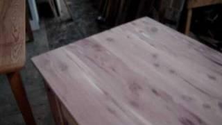 Cedar Desk 004