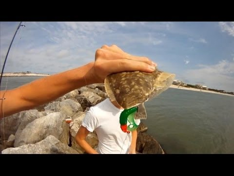 Fishing St. George Island: Sikes Cut (Flounder Rigs!)