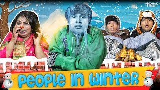PEOPLE IN WINTER : सर्दी | COMEDY VIDEO | INDIANS IN WINTER | #Funny #Bloopers || MOHAK MEET