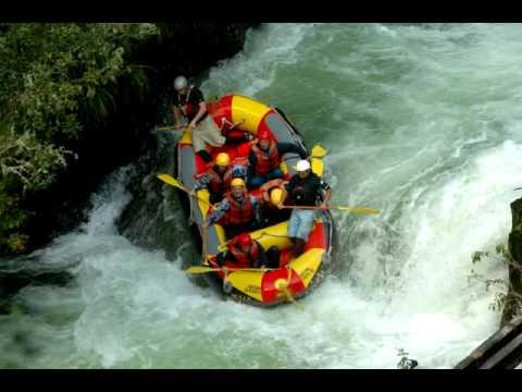 Rafting on the Kaituna River Grade 5 New Zealand