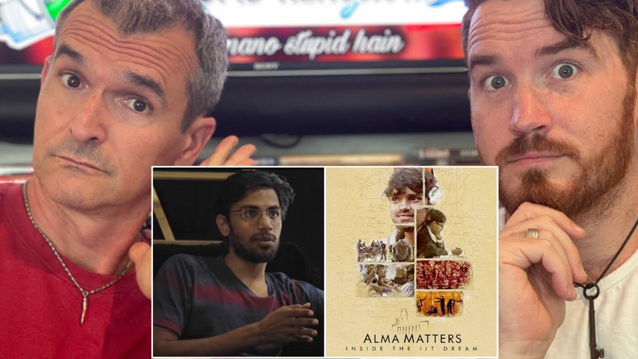 ALMA MATTERS: INSIDE THE IIT DREAM | Netflix India | Trailer REACTION!!