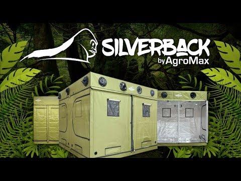 HTG Supply Presents The AgroMax Silverback Grow Tents - Best Built Grow Tents USA gorilla & HTG Supply Presents: The AgroMax Silverback Grow Tents - Best ...