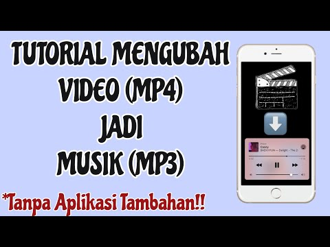 CARA MERUBAH MP4 JADI MP3 TANPA APLIKASI