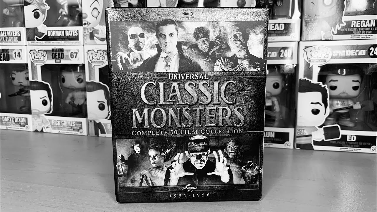 Download Universal Classic Monsters: Complete 30-Film Collection - Blu-ray Unboxing