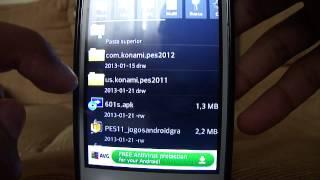 Como baixar e instalar o PES 2011 para Android (Novo Link 2015)