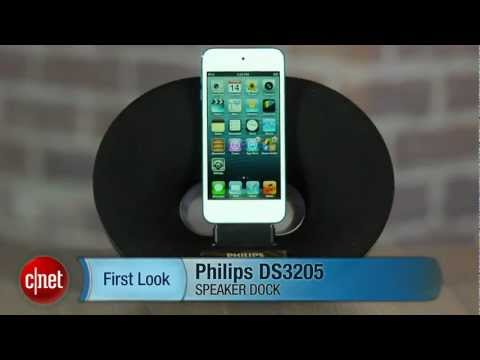 Sizing up Philips DS3205 iPhone 5 speaker dock