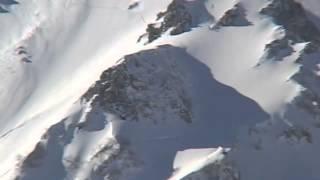 "「colorsportclub, 白馬鑓ヶ岳""逆くの字ルンゼ ""2004年」 Alpine,Backcountry ski and snowboarding in Hakuba Japan"