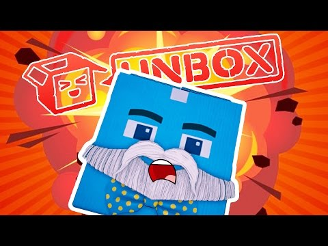 BLOWING UP CARDBOARD BOXES!!!! | Unbox | Fan Choice Friday