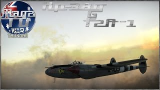 War Thunder - XP-38G & F2A-1 - Realistic Battle (Take II)