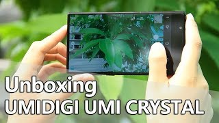 UMIDIGI UMI CRYSTAL Smartphone Unboxing & Hands On Video
