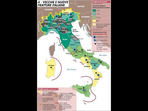 Mappa Mundi: Il coronavirus divide l'Italia e l'Europa